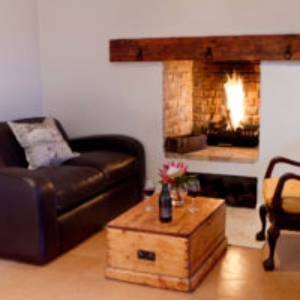 Indoor fireplace for the cold nights