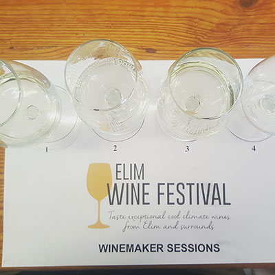 What makes Elim's white wines special?