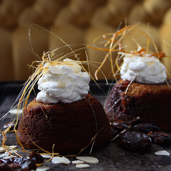 Sherried Date Pudding
